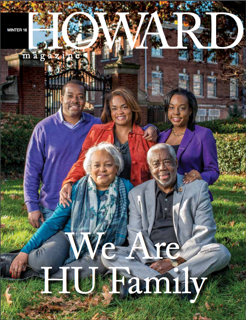 Howard Magazine Cover